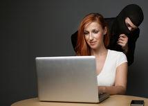sledovanie, špehovanie, internet, zlodej, krádež, identita,  kyberzločin, hacker