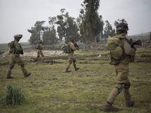 Izrael, Sýria, Hizballáh, vojaci, vojsko,