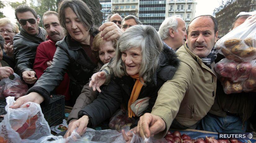 Grécko, ľudia, kríza
