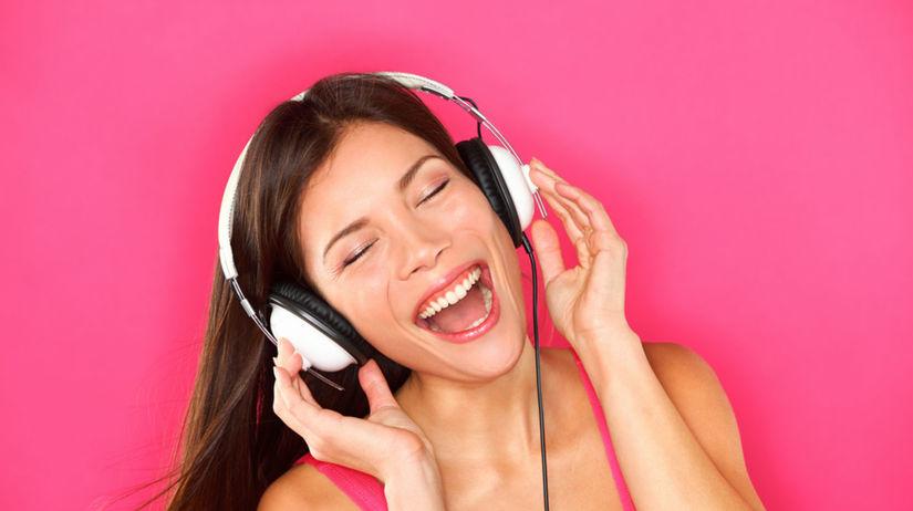 hudba, dobrá nálada, slúchadlá