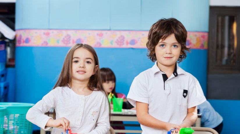 školáci, škola, vzdelávanie, prvák