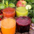 ovocná, zeleninová šťava, vitamíny, minerály