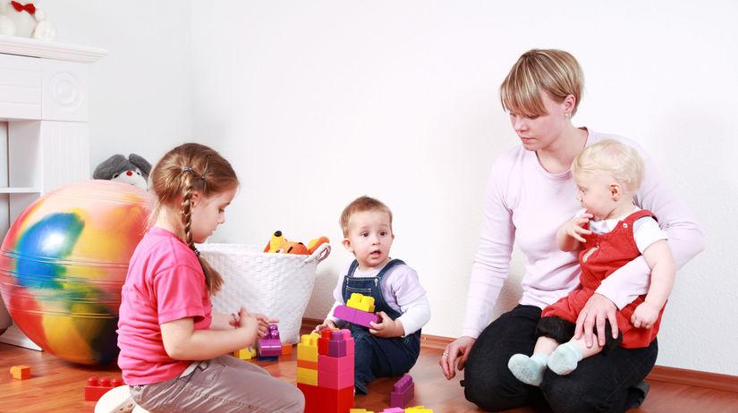 deti, rodina, hra