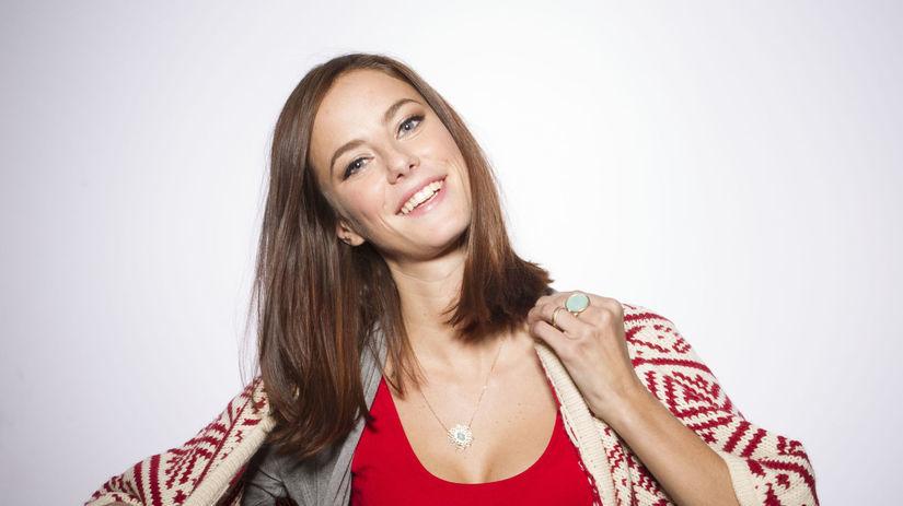 Herečka Kaya Scodelario.