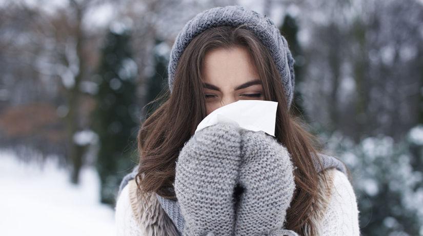 prechladnutie, chrípka, plný nos, nádcha