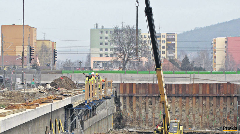 Trenčín, práce, železnica