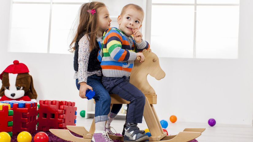 detská izba, hračky, súrodenci