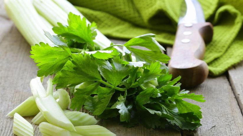 zeler, zelenina, chudnutie, výživa