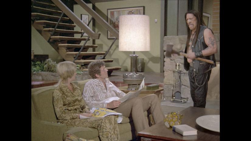 Záber z reklamy na tyčinku značky Snickers s...
