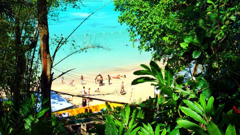 ocho rios, jamajka, pláž, more, exotika,