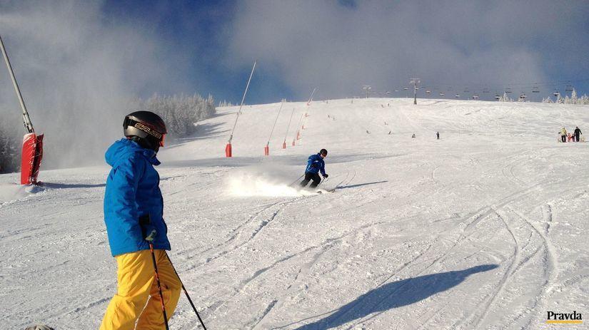 kubínska holľa, hory, sneh, lyžovanie, svah,...