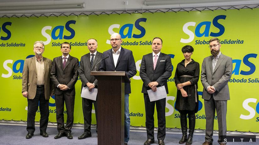 SaS, Sloboda a Solidarita, Richard Sulík