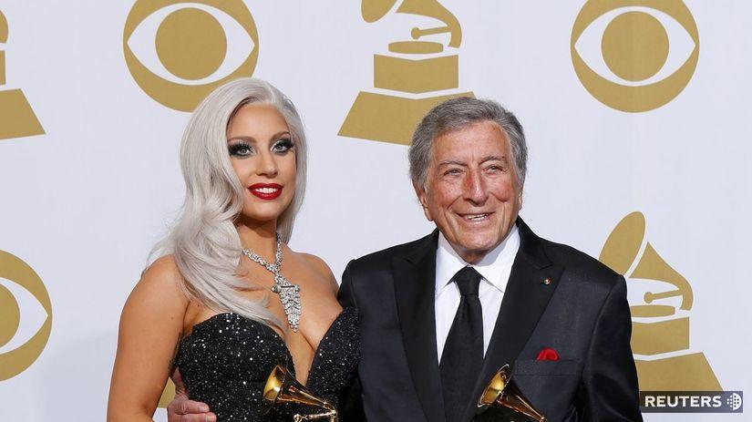 Lady Gaga a o 60 rokov starší Tony Bennett