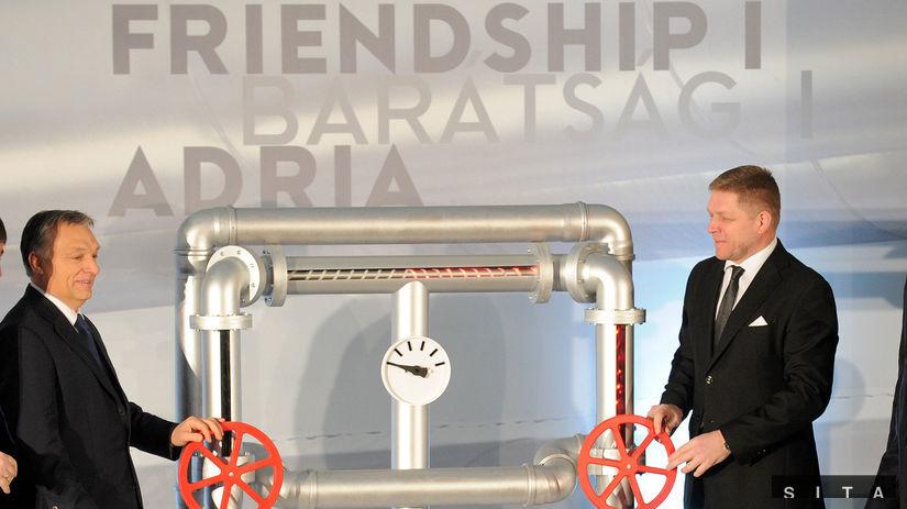 ropovod Adria/Barátság I.