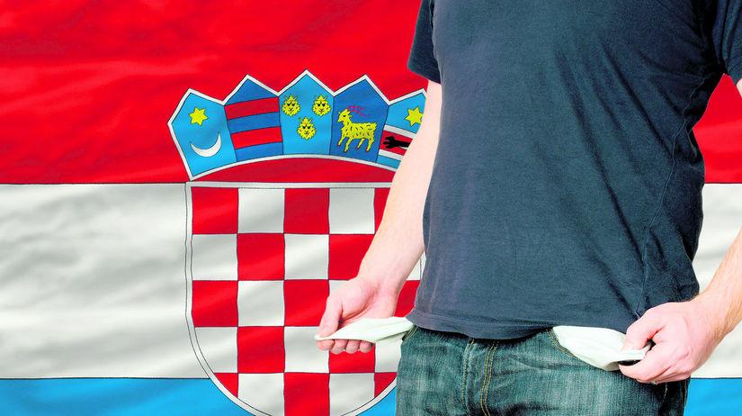 Chorvátsko, dlhy