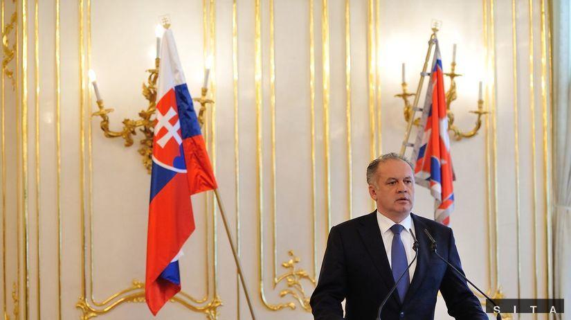 prezident, Andrej Kiska, vyhlásenie, referendum...