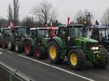 Poľsko, farmári, roľníci, protest, Varšava,