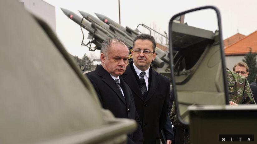 Prezident, Andrej Kiska, zbrane, armáda,...