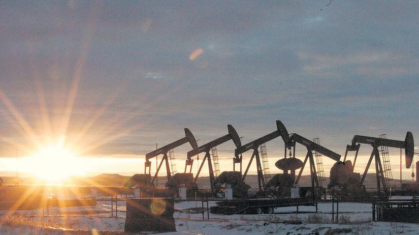 ropa, ťažba, nafta, benzín