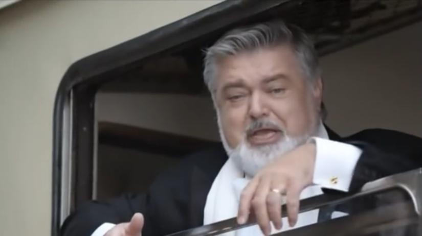 Peter Dvorský, reklama