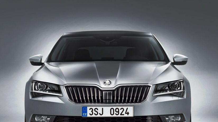 Škoda Superb - 2015