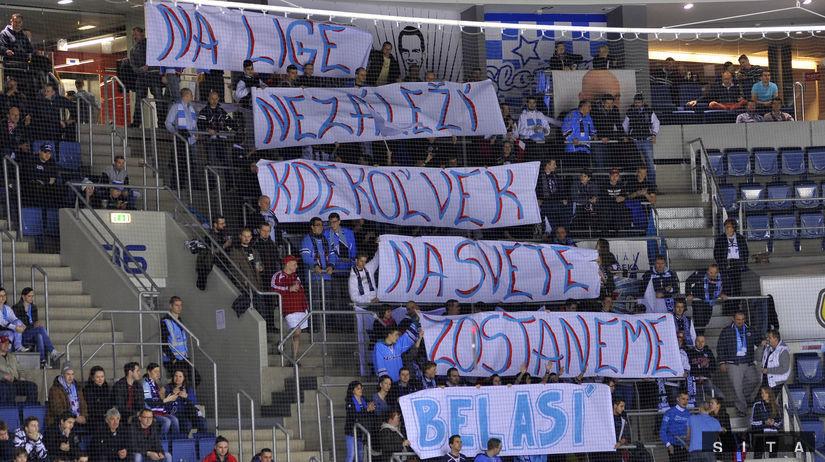 fanúšikovia, Slovan, KHL