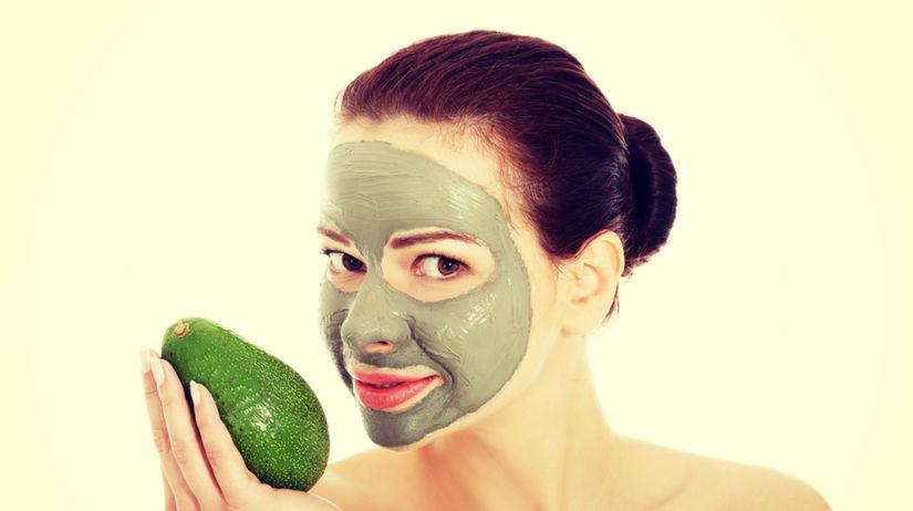 avokádo, pleťová maska, kozmetika