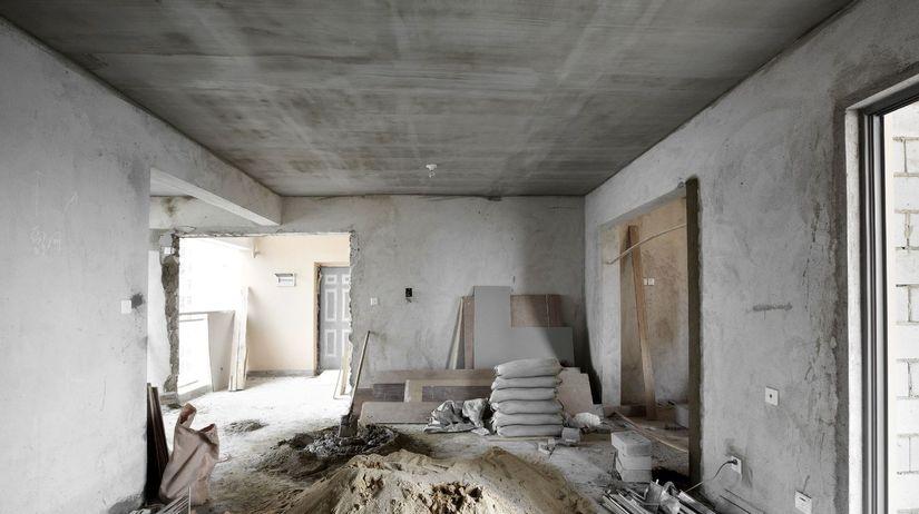 stavba, dom, stavenisko, malta, piesok,...