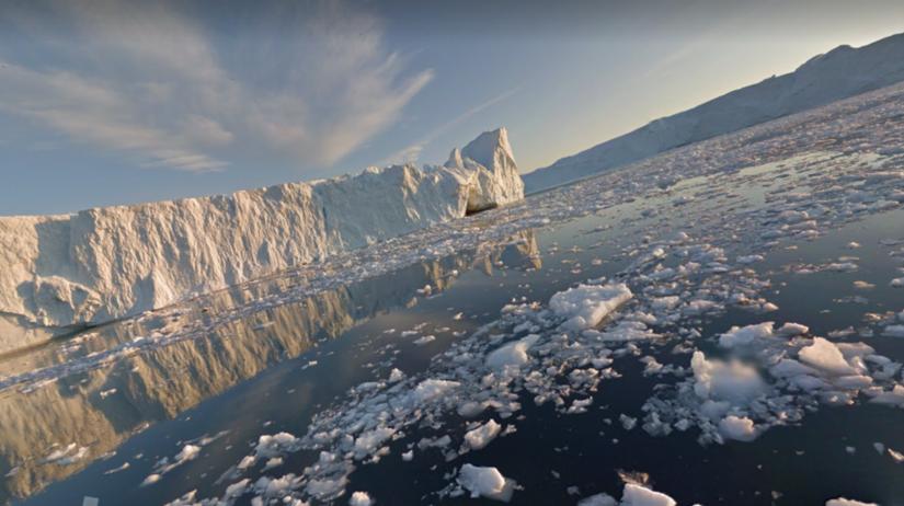 Google, Street View, Grónsko