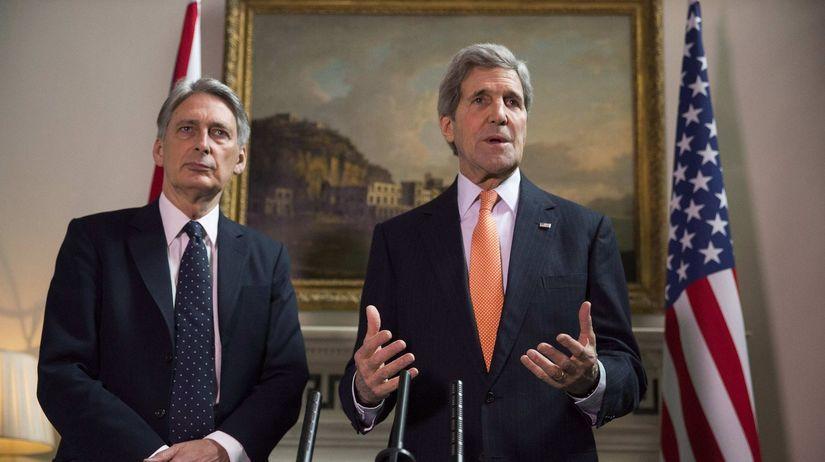 John Kerry, Philip Hammond, Veľká Británia