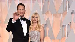 Chris Pratt v spoločnosti manželky Anny Farisovej