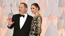 Harvey Weinstein a jeho manželka Georgina Chapman