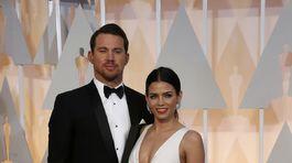 Herec Channing Tatum a jeho manželka Jenna Dewan.