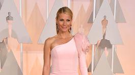 Herečka Gwyneth Paltrow prišla v róbe Ralph & Russo Couture.