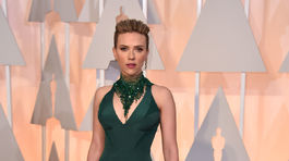 Herečka Scarlett Johansson vyzerala supersexi.