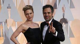 Mark Ruffalo so svojou manželkou Sunrise Coigney