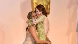 Oscar 2015, Jennifer Aniston, Emma Stone