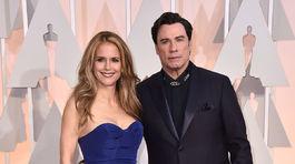 Oscar 2015, Kelly Preston, John Travolta