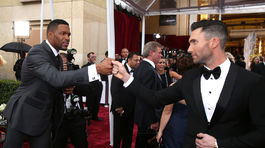 Oscar 2015, Michael Strahan, Adam Levine