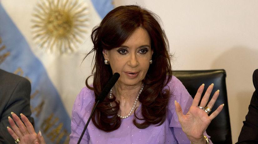 Argentína, prezidentka Cristina Fernándezová...