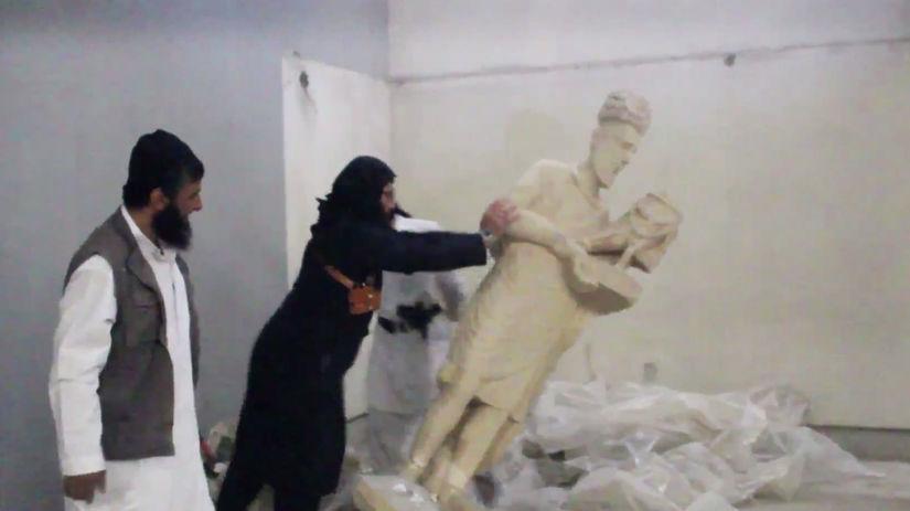 Islamský štát, Mosul, múzeum