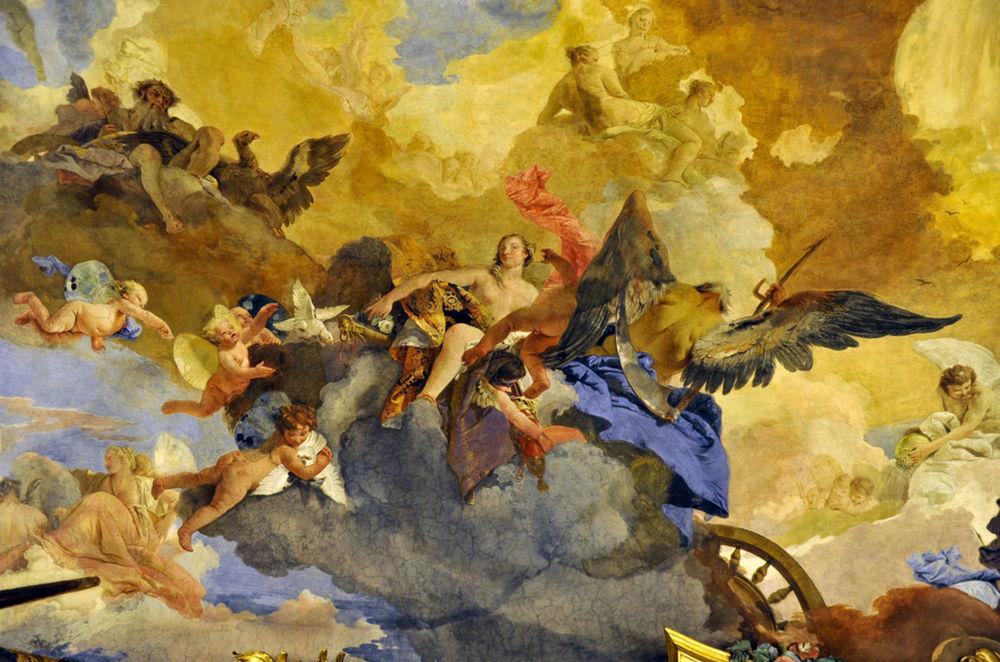 Giovanni Battista Tiepolo, freska