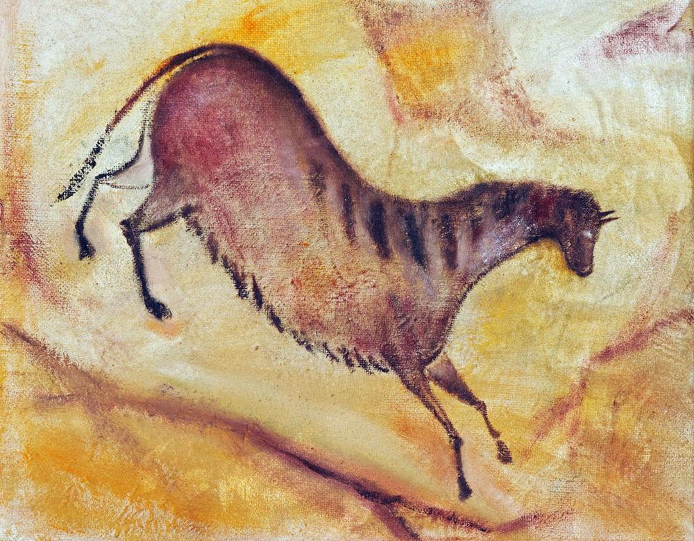 jaskynná maľba a la Altamira