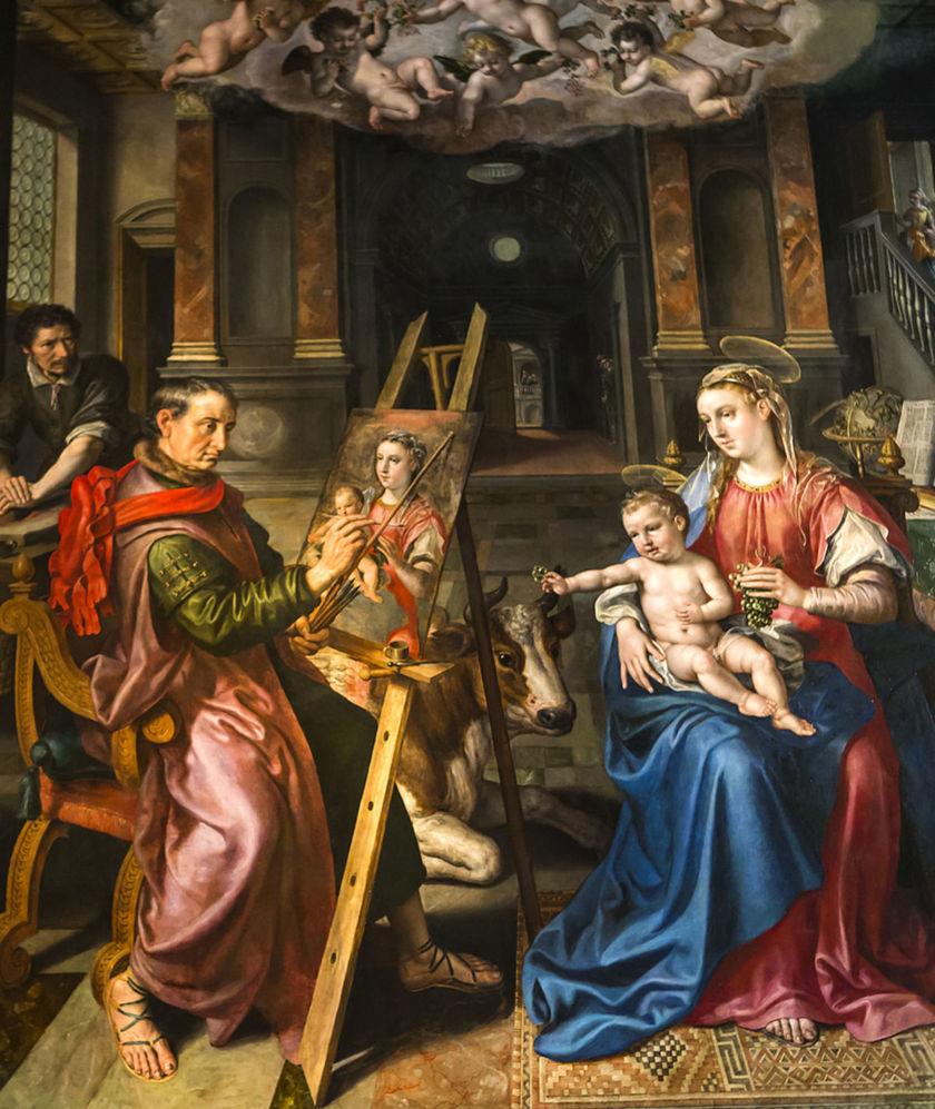 Notre-Dame d'Anvers, maľba