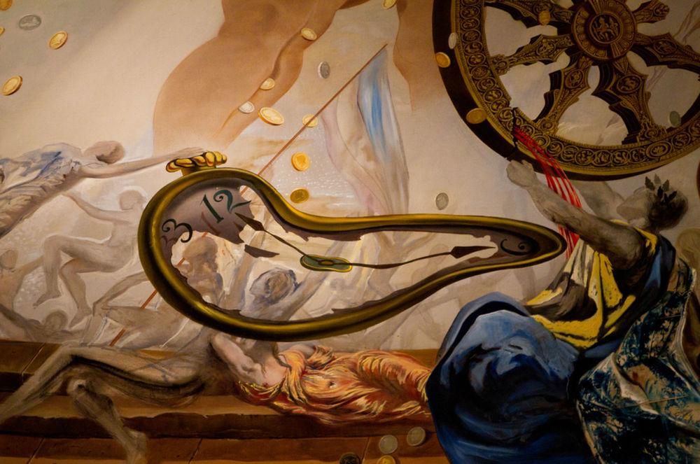 Salvador Dali, detail z Daliho múzea