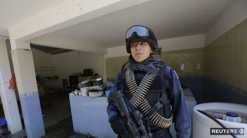 Mexiko, polícia