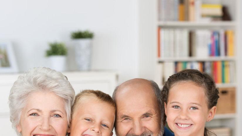 starí rodičia, rodina, výchova