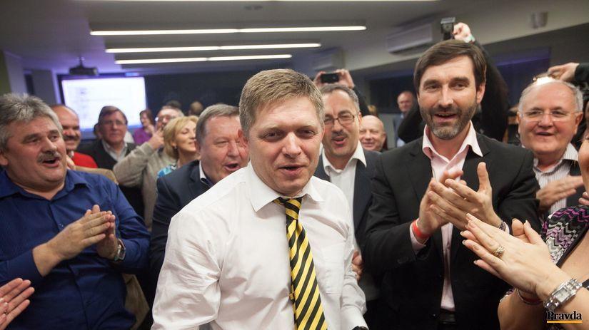 voľby 2012, Fico, Smer,