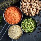 strukoviny, šošovica, bielkoviny