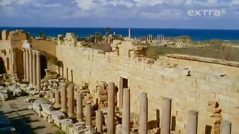 Líbya, pamiatky, Leptis Magna